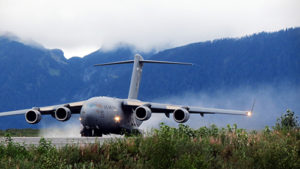 United States Air Force C-17A in Alaska